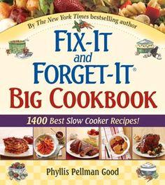 Fix-It and Forget-It Big Cookbook