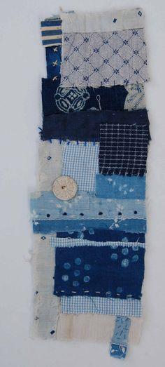 Textile Collage Strippy - Mandy Pattullo