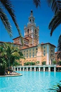 Best. Hotel pool.  Ever.  The Biltmore in Coral Gables.  One of the most beautiful hotels I've ever visited.  If you're in the area on business during the off season, the rates are surprisingly reasonable.