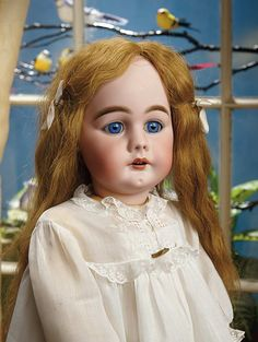 Sanctuary: A Marquis Cataloged Auction of Antique Dolls - March 19, 2016: 223 Beautiful German Bisque Child, Model 949, by Simon and Halbig, Size 16