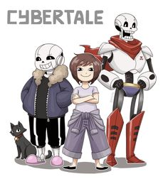 Cybertale Character collection (1/?) by Ethai