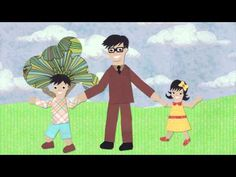 Bilingual Father's Day Video. Great for an E-card for Dad on his birthday! Superhero Dad in English and Spanish.