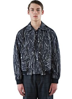 MariusPetrus Relaxed Fit Patterned Jacket | LN-CC