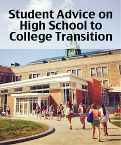 Twitter Chat Recap: The Virtual High School to College Transition. High  School CounselingCareer.