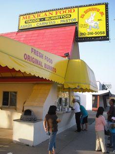 El Burrito Junior - carnitas burrito! | Redondo Beach, CA