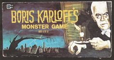 Boris Karloff's Monster Game Board Game