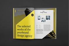 Selected Brochure by RW DS, via Behance