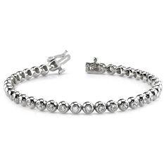 Diamantarmband 2.00 Karat aus 585er/750er Gelb- oder Weißgold  #diamantarmband #diamonds #diamante #diamanten #gold #schmuck #diamantschmuck #juwelier #abt #dortmund