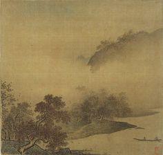 Li Tang(李唐)  , 李唐 , 江山秋色图
