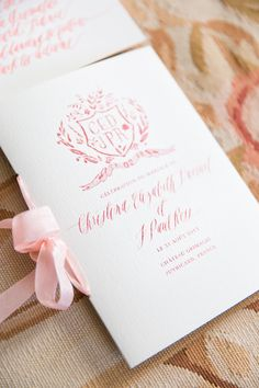 Romantic Wedding in Provence, South of France Calligraphy by Feast Fine Art Calligraphy, www. Photography: One and Only Paris Photography - . Spring Wedding Invitations, Wedding Invitation Suite, Wedding Stationary, Gala Invitation, Invitation Design, Wedding Favors, Wedding Decorations, Wedding Ceremony Readings, Wedding Programs