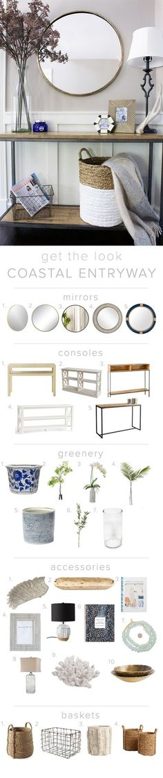 Doreen Corrigan | Entryway Ideas, Entryway Decor, Create the Look, Coastal Entryway, Entryway | doreencorrigan.com