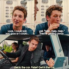 Lol I love Peter he's so funny