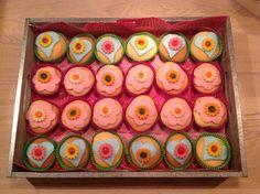 Madeliefjes cupcakes voor mijn kleine Madeliefje