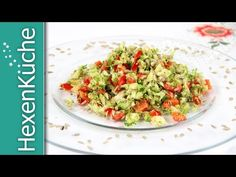 Brokkoli Rohkost Salat « dieHexenküche.de | Rezeptideen für den Thermomix TM5 Broccoli Salad, Eat Smart, Potato Salad, Cabbage, Grilling, Food And Drink, Low Carb, Vegan, Vegetables