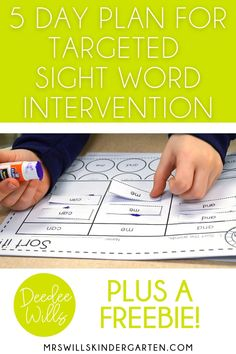 Sight word intervention to help students master their sight words! Teaching Sight Words, High Frequency Words, Day Plan, Book Recommendations, Literacy, Kindergarten, Students, Activities, How To Plan