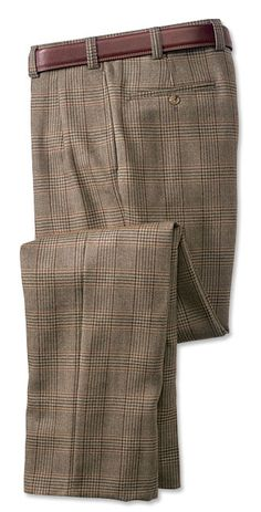 Checkered brown houndstooth plaid pant for men in 2018 : Checkered brown houndstooth plaid pant for men in 2018 Checkered Trousers, Tweed Trousers, Wool Pants, Mens Plaid Pants, Mens Dress Pants, Men's Pants, Pants Outfit, Mens Golf Outfit, Pleated Pants