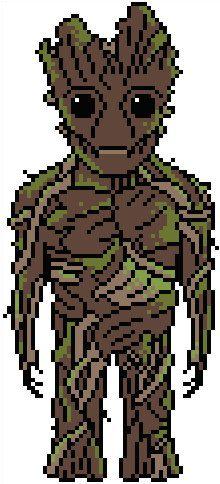 Guardians of the Galaxy: Groot Chart PDF Pattern