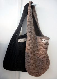 Would love it a bit more if it had a longer strap. Crochet World, Crochet Home, Diy Crochet, Crochet Style, Crochet Saco, Knitting Patterns, Crochet Patterns, Crochet Backpack, Crochet Needles