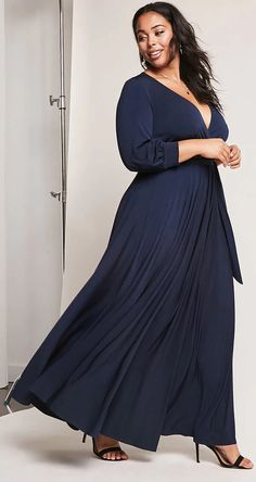 Plus Size Surplice M