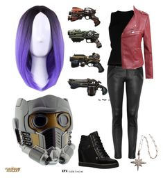 """Star-Lord Fanfiction"" by koriander2017 on Polyvore featuring Vanessa Bruno Athé, Roberto Collina, LE3NO, ALDO and WithChic"
