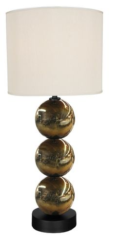 "Triple Dazzel, Table Lamp 36"" H."