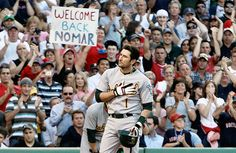 Nomar's return to Fenway 4 years after being traded to the Cubs