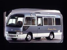 Toyota Coaster Camping Saloon (B40) '1992–2001