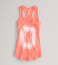 I don't even like Ohio State but I really like this tank top from American Eagle!