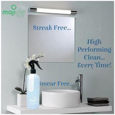 MojiLife MojiClean Glass & Surface Cleaner, Streak Free!