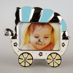 Ramka dziecięca w kształcie wózka