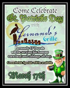 🍀Come Celebrate St. Patricks Day with us - March Drink Specials, Mediterranean Recipes, March, Restaurant, Drinks, Celebrities, Day, Twist Restaurant, Beverages