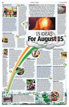 Trinity Care Foundation listed in Times Of India amongst the 15 ideas from…