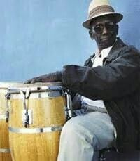 Born October 10th 1925 in Matanzas, Cuba,  Francisco Aguabella became a well-known percussionist. His music was dedicated to afro-cuban traditions and folklore music. He used what is called a Batá drum. Much of his music is well known for its Santeria/Lukumi themes. Aquabella died in 2010 but his music remains an important artifact throughout the diaspora.