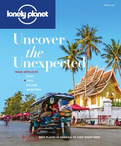 "Lonely Planet magazine (US) Spring 2016 Sample Uncover the Unexpected – at home and on the go. Designed exclusively with North American readers in mind, Lonely Planet offers fresh travel ideas, practical tips and advice, essential information and stunning photography. Every issue will contain travel discoveries, inspiring photographs and the stories behind them, trip ideas and more. The spring issue features Lonely Planet's ""Best in the U.S. 2016"" list – a diverse mix of cities, regions a..."