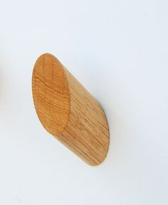 Contemporary Angled Pegs Choice of Walnut Oak or Ash by joyojoyuk