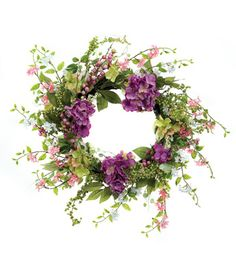 Mix Hydrangea Berry Wreath