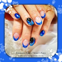 :) Salon Nails, How To Do Nails, Salons, Mosaic, Sapphire, Rings, Jewelry, Living Rooms, Jewels
