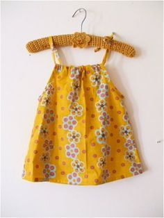 Baby Girl Dress Patterns | Here we go, for a baby drawstring dress, size 0 months to 4/6 months ...
