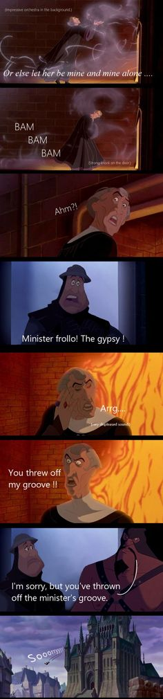 Hunched Back of Notre Dame/ Emperor's New Groove crossover!