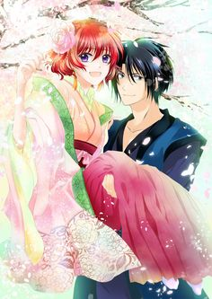 Akatsuki no Yona (Yona Of The Dawn) Mobile Wallpaper - Zerochan Anime Image Board Yona Akatsuki No Yona, Anime Akatsuki, Manga Art, Manga Anime, Anime Kimono, Manhwa, Hokusai, Girl Standing, Cute Anime Couples
