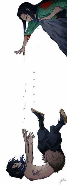 Read Kimetsu No Yaiba / Demon slayer full Manga chapters in English online! Sad Anime, Anime Demon, Otaku Anime, Kawaii Anime, Anime Art, Anime Angel, 3d Pokemon, Slayer Meme, Japon Illustration