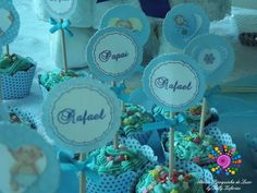 Toppers personalizados para Cupcakes