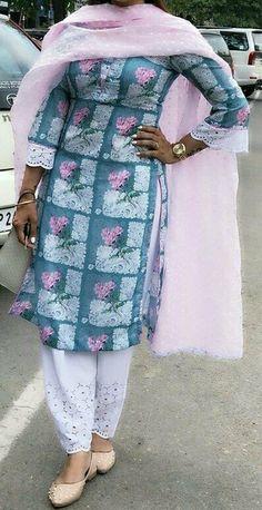 Cotton for hot summers punjabi suit