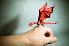 Origami animals : dragon