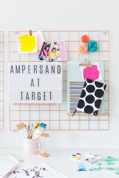 Ampersand Design Studio planners and calendars with @blueskyimg for @target