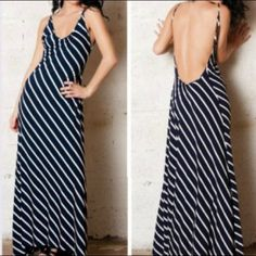 u back maxi dress 00