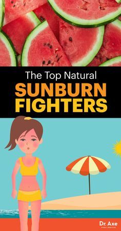 Natural Sunburn Relief that You Haven't Thought Of
