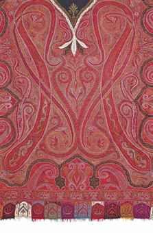 kashmir shawls from india | LONG KASHMIR SHAWL | INDIAN, CIRCA 1860S | Islamic Art Auction ...