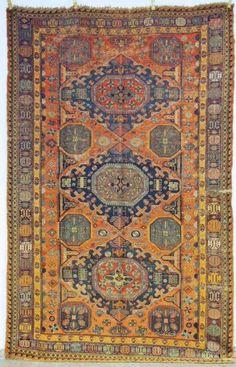 Sumakh, 19. Jh., 325 x 202cm, Zustand C/D