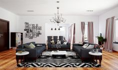 living room layout with ample seating